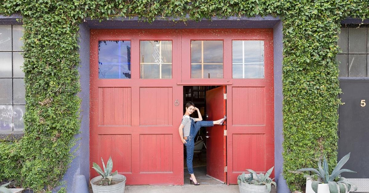 D sormais la maison bleue se trouve oakland lostinsf for Adresse de la maison bleue san francisco