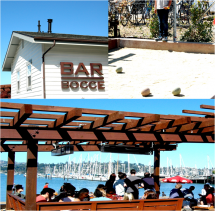 Going out at Bar Bocce in Sausalito is almost like going out in St ...