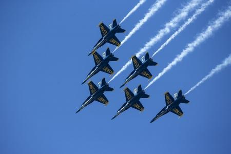 Six Blue Angels