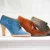 Pascaline Paris Blue Suede Shoe