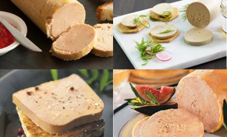 huitre foie gras four