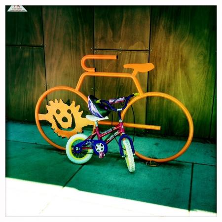 Sunbike for a little miss sunshine!
