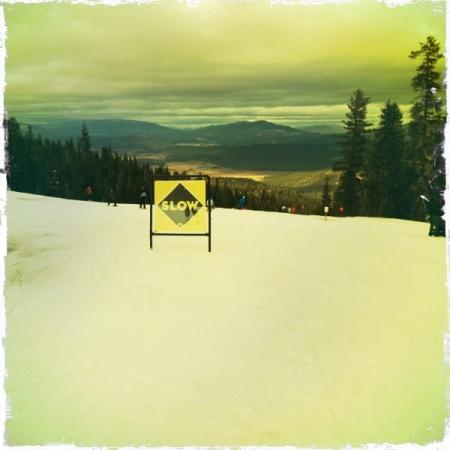 Snow at Tahoe