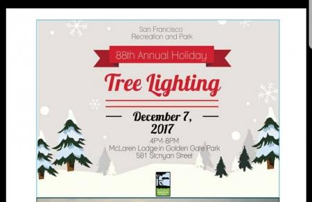 TREE LIGHTINGS IN SAN FRANCISCO | LostinSF